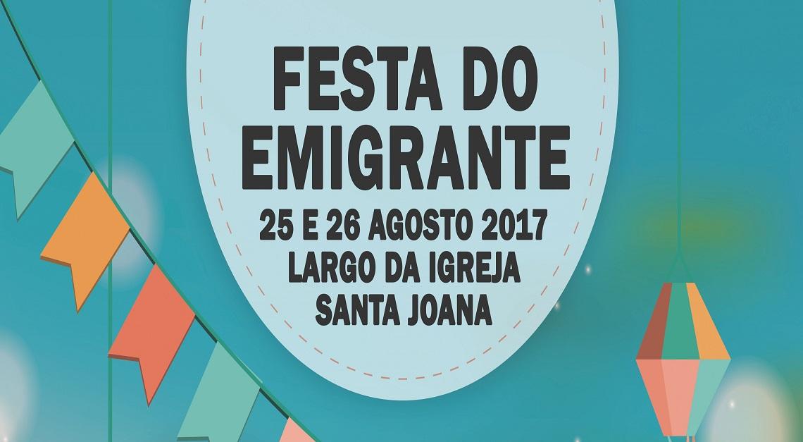 FESTA em Santa Joana do EMIGRANTE 2017