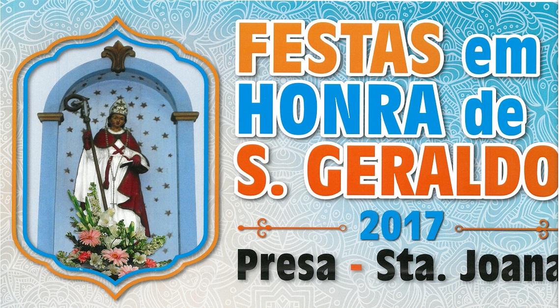 FESTAS em Honra de SÃO GERALDO 2017