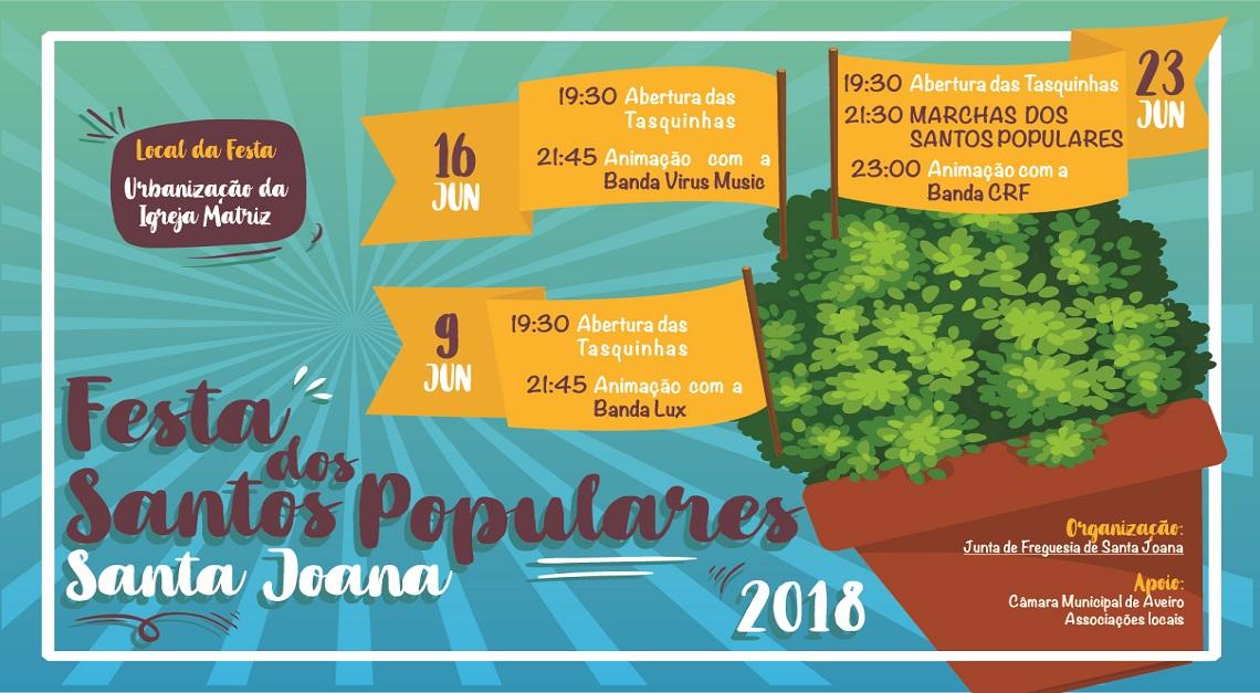 FESTA DOS SANTOS POPULARES _ 23 JUNHO