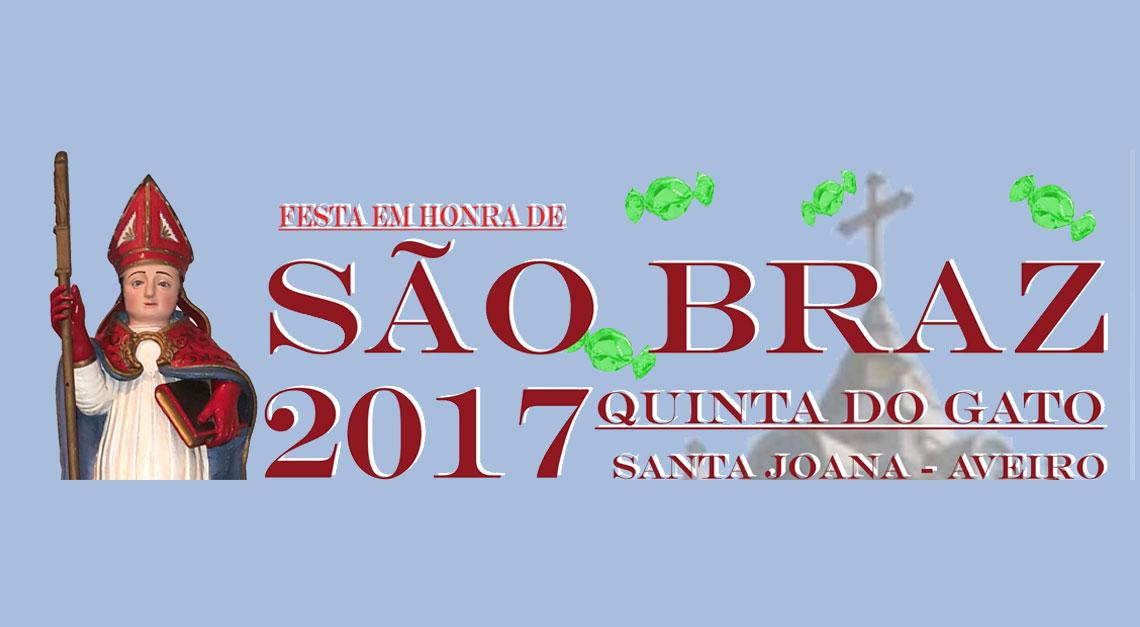 Festa em Honra de São Bráz 2017