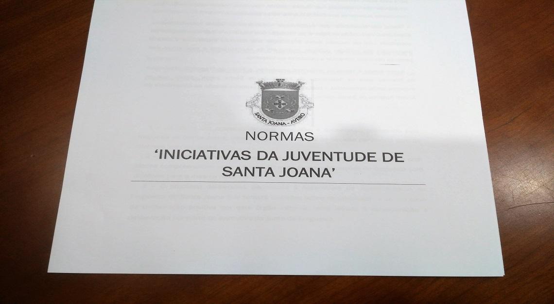 Iniciativas da Juventude de Santa Joana com candidaturas abertas