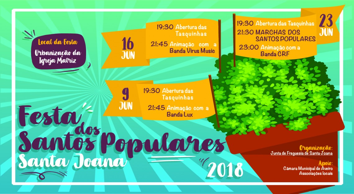 FESTA DOS SANTOS POPULARES 2018
