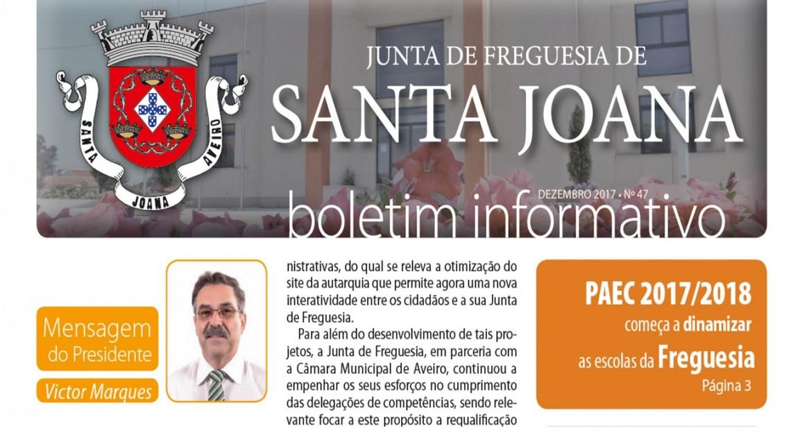 Boletim Informativo n.º 47 - Dezembro 2017