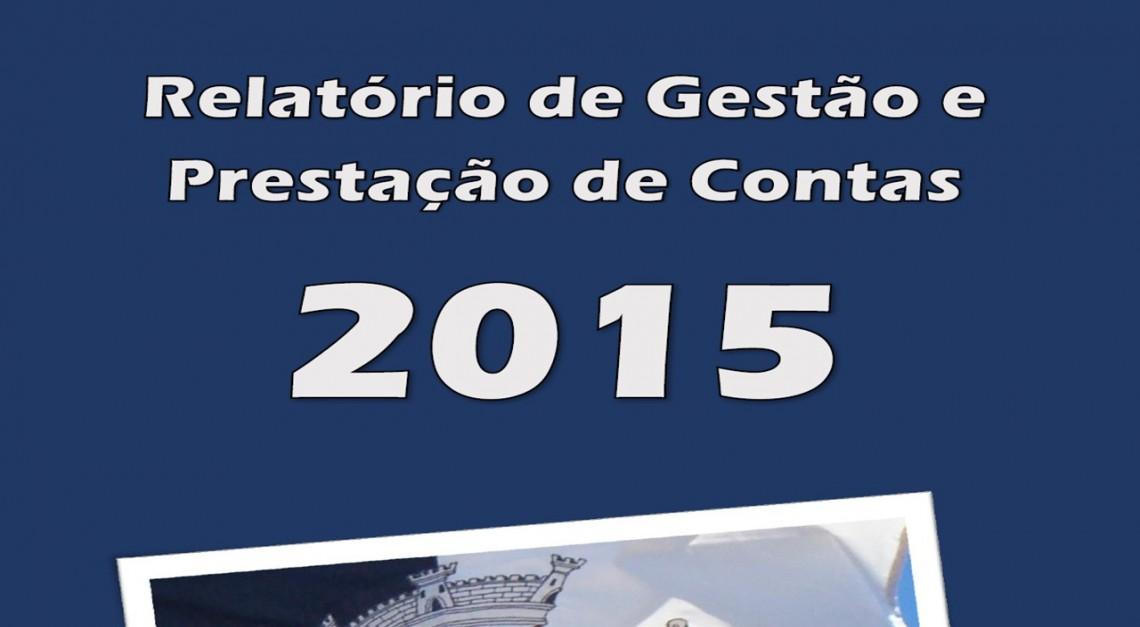 RELATÓRIO DE GESTÃO E CONTAS 2015