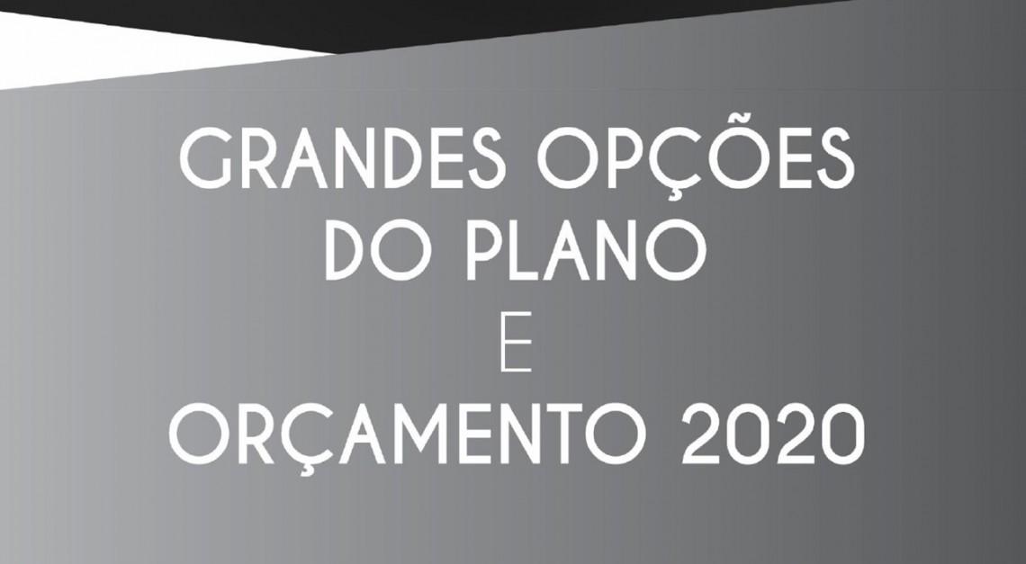 GRANDES OPÇÕES DO PLANO 2020